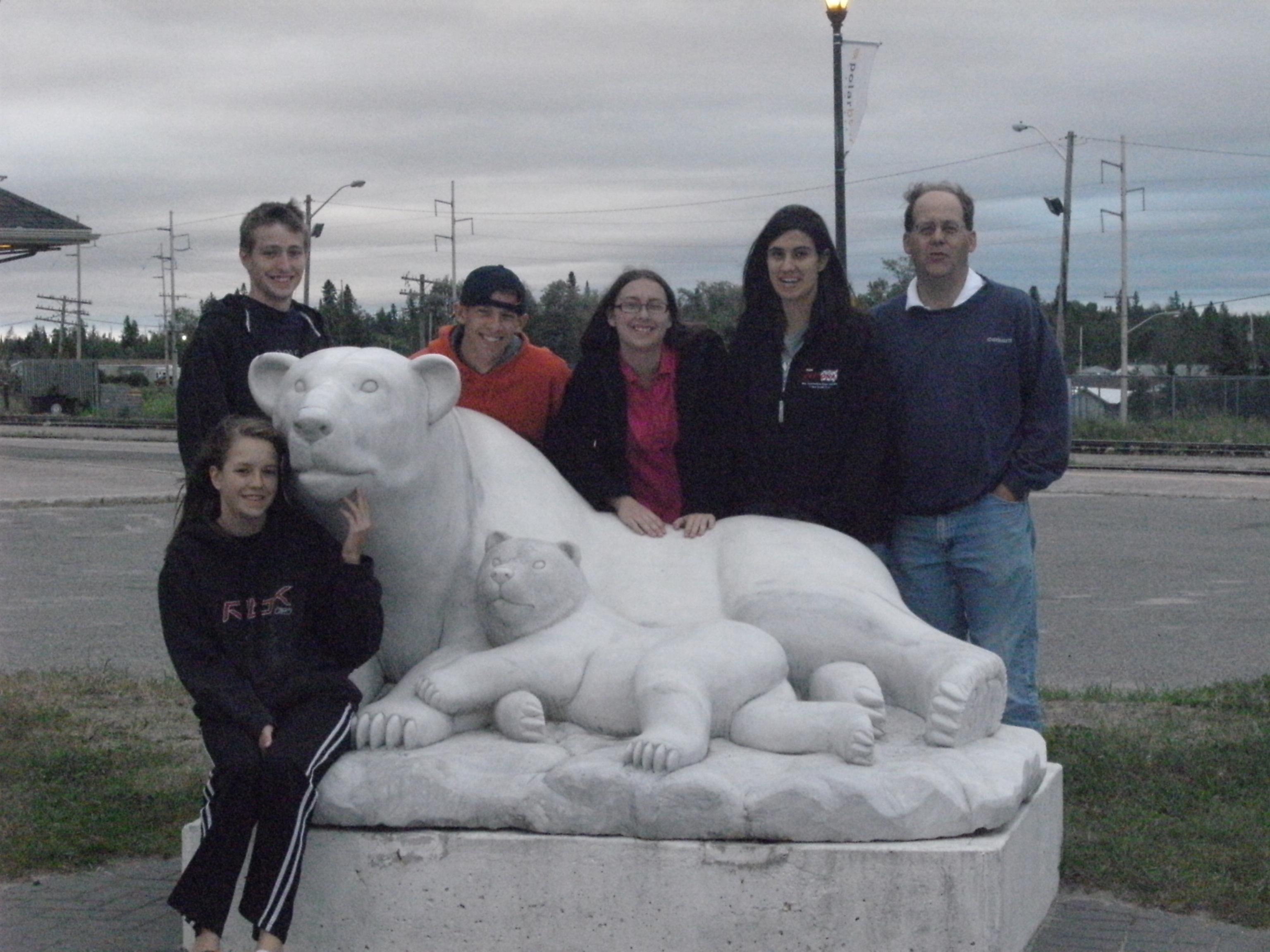 Moose Factory Team in Cochrane, Ontario.